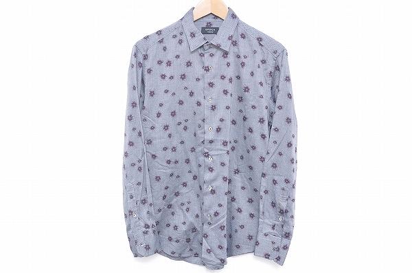エポカ UOMO 長袖シャツ 46 グレー メンズ_1