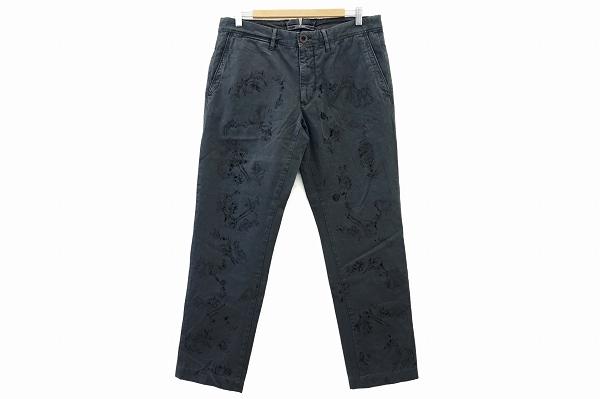 インインコテックス パンツ 34 グレー メンズ
