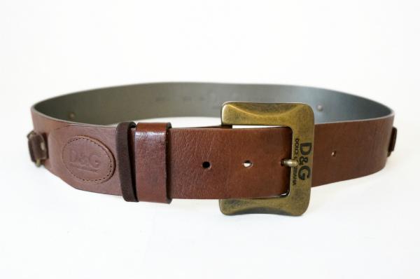 ドルチェ&ガッバーナ ベルト 90 茶色系 メンズ