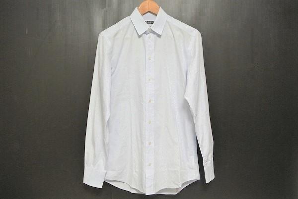 ドルチェ&ガッバーナ 長袖シャツ 39 ブルー メンズ