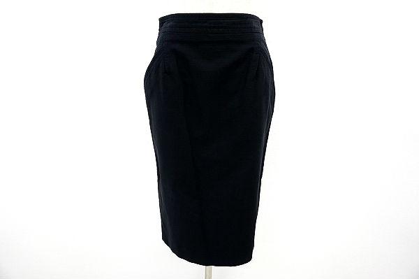 グッチ スカート 38 黒 レディース