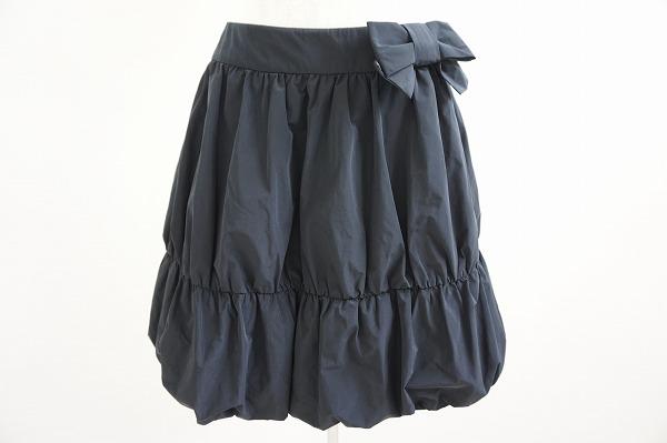 エムズグレイシー スカート 36 黒 バルーン 美品 レディース