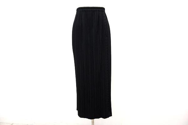 プリーツプリーズ イッセイミヤケ スカート 1 黒 美品 レディース