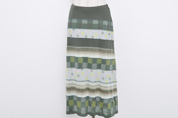 イッセイミヤケハート スカート 2 美品 レディース