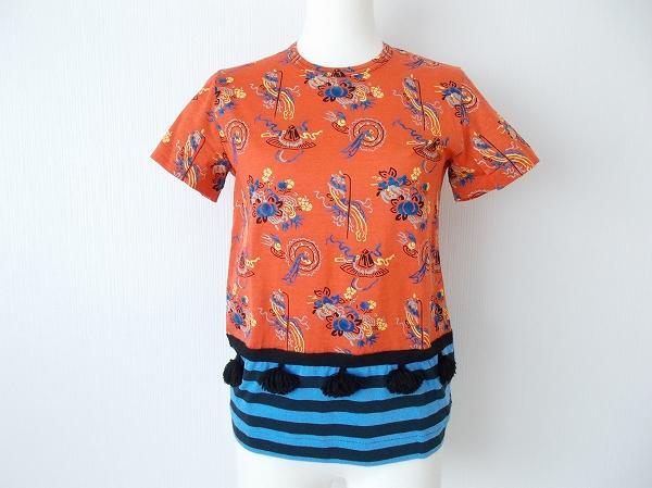 トリコ コムデギャルソン カットソー S 半袖 Tシャツ 美品 レディース