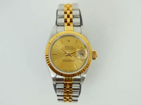 格式が高く定評のあるブランド・ロレックスの自動巻きの時計をご紹介