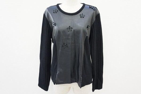 遊び心がつまった凝ったつくりが光る!アルベロベロのラムウール黒セーターを買取しました