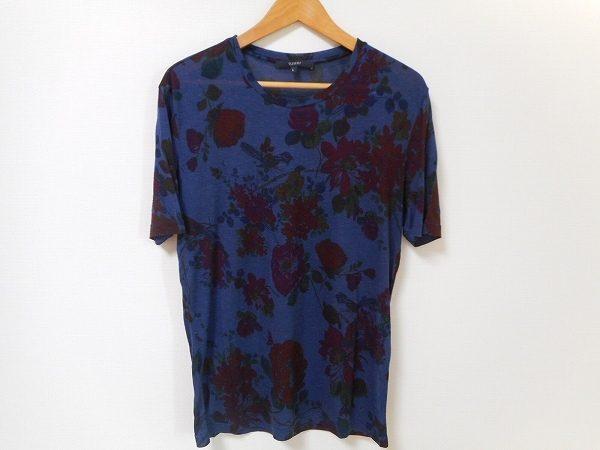 男性の花柄デビューに!グッチのメンズ花柄Tシャツを買取しました