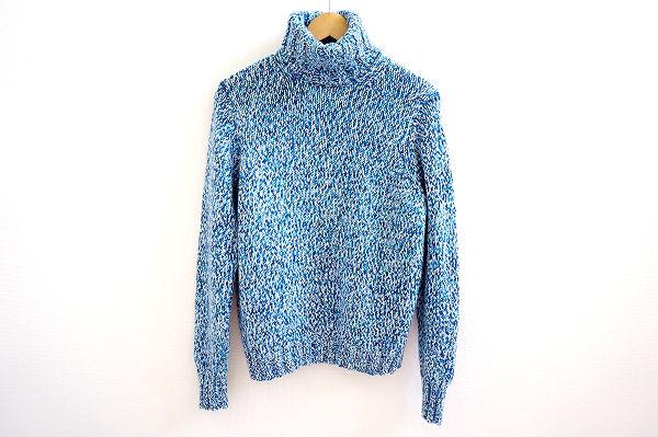 クルチアーニ セーター 48 水色 メンズ