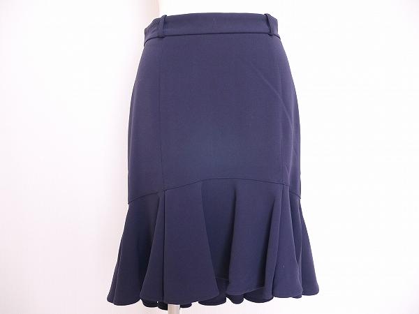 ウンガロ スカート 42 紺 レディース