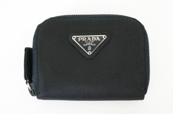 プラダ コインケース 財布 小銭入れ ナイロン 黒 美品