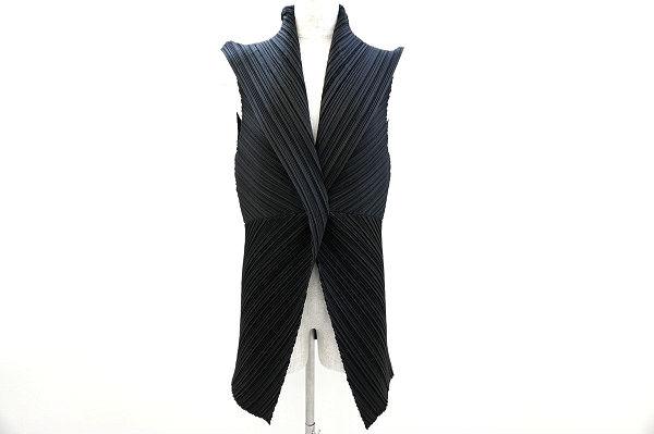 イッセイミヤケのジャケットベストを買取しました。洋服買取ならアクイールにお任せください。