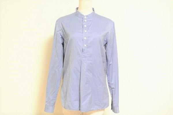 ドゥロワー 長袖シャツ 38 青 レディース
