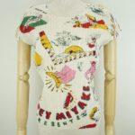 リゾート仕様のモードファッションにはコレ!プリーツプリーズのTシャツ。