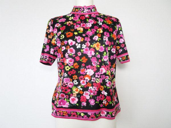【買取りました】一枚でエレガントに!世代を超えて愛用され続けるレオナールの花柄カットソー