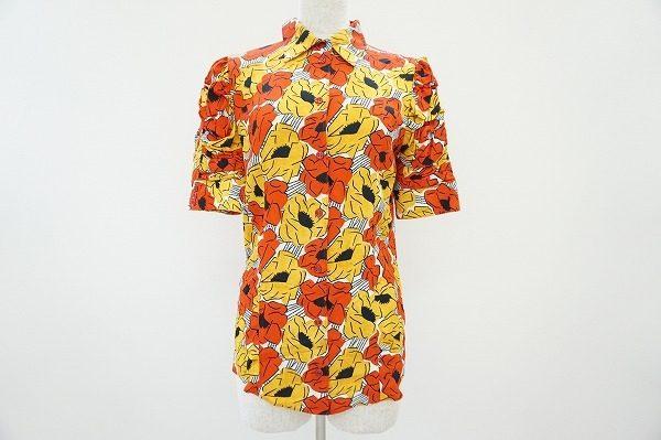【買取りいたしました】カラフルなデザインがリゾートにも最適。イヴサンローランの半袖シャツ