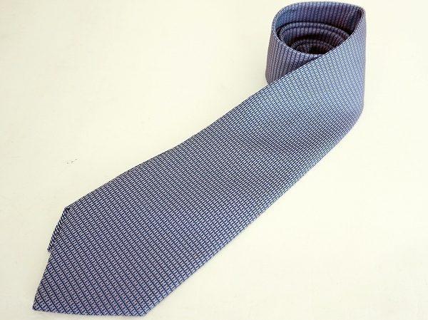 小物にハイブランドを取り入れて、装いランクアップ。エルメスのネクタイを買取り致しました。