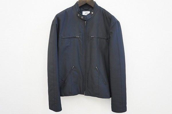 【買取情報】寒い季節をクールに乗り越えられる、アルマーニエクスチェンジのレザージャケット