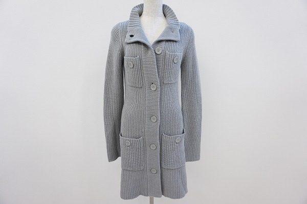 コートのような着こなしも。着回し力抜群なトミー・ヒルフィガーのロングカーディガンを買取しました。