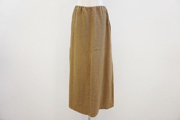 年齢を選ばないシンプルなデザイン。マックスマーラのロングスカートを買取しました