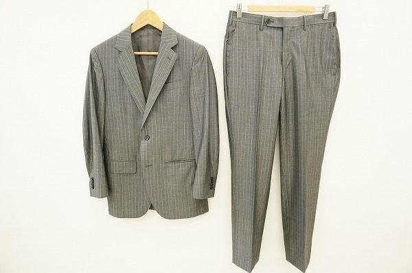 決めすぎない、余裕のあるスーツスタイルが楽しめる。エストネーションのS2Bスーツを買取しました