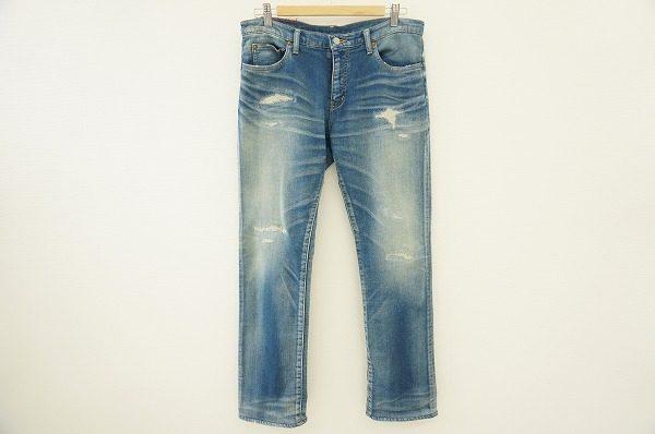 色落ち加工が脚を細く見せてくれそう!大人気ロンハーマンのジーンズを買取しました。