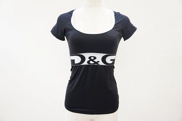 ウエストのロゴマークでラグジュアリーに決めて。ディーアンドジー(D&G)のアンダーウェアTシャツを買取しました。
