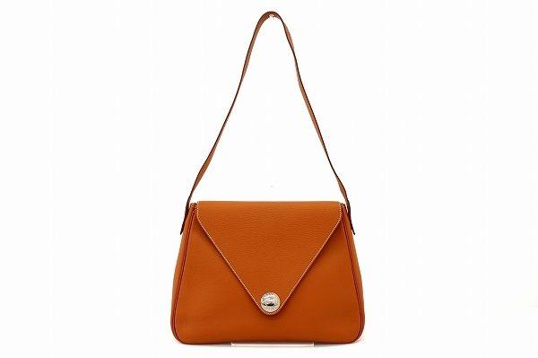 デイリーに使える高級バッグ!エルメスのクリスティーヌを買取致しました
