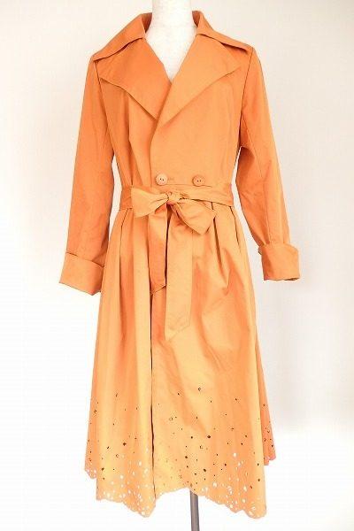 鮮やかなシャーベットオレンジで顔色も明るく。フォクシーニューヨークのワンピースを買取しました。