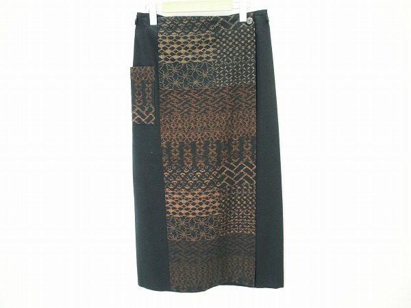 和のテイストで個性派エレガントを。儀右ヱ門のタイト巻きスカートをお売り頂きました