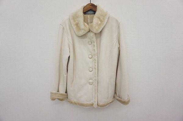 レディな雰囲気を保った素敵なコート。フランコフェラーロのムートンを買取しました