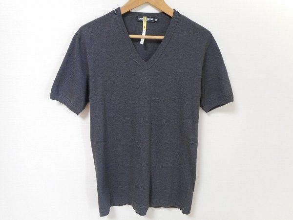 カジュアルルックにもラグジュアリーさをプラス。ドルチェ&ガッパーナのTシャツをお売り頂きました