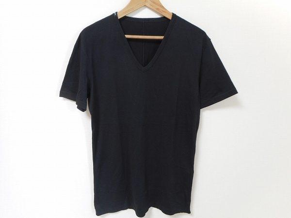 シンプルだからこそ素材感が映える、ドルチェ&ガッバーナのブラックTシャツをお売り頂きました
