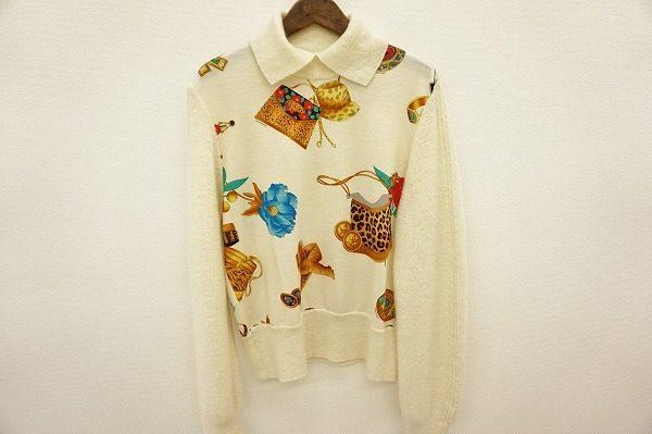 個性的にゴージャスに!でも軽やかに!レオナールスポーツのセーターをお売り頂きました