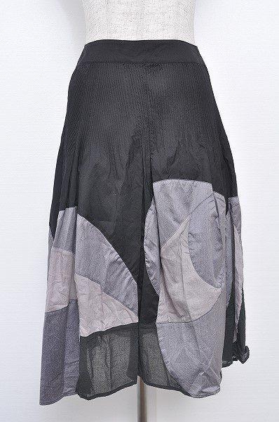 デザインに変化があって面白い。センソユニコのアシンメトリースカートを買取しました