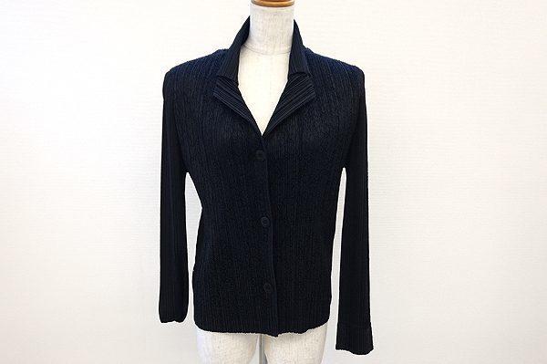 ボディラインが綺麗に見えるプリーツプリーズのジャケットを買取しました