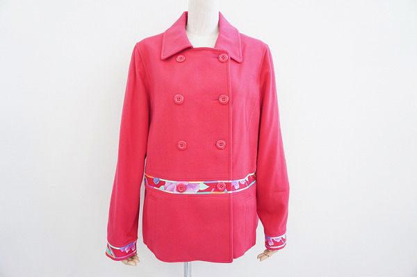 生き生きとした可愛らしさ溢れるレオナールスポーツのコートを買取いたしました
