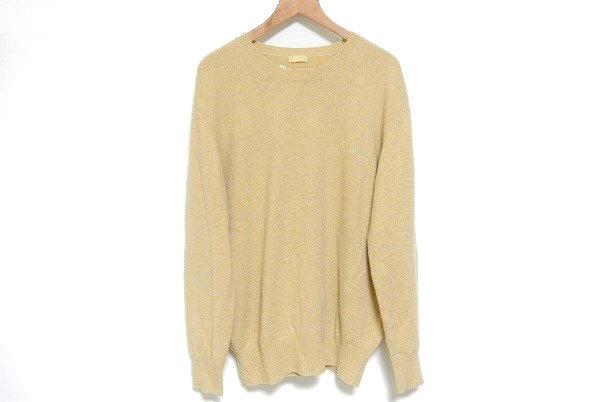 優しい黄色ベージュが秋冬ファッションの幅を広げる、パパスのニットセーターを買取いたしました
