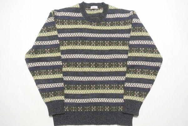 カジュアルに着こなしたいパパスのボーダー柄セーターを買い取りました
