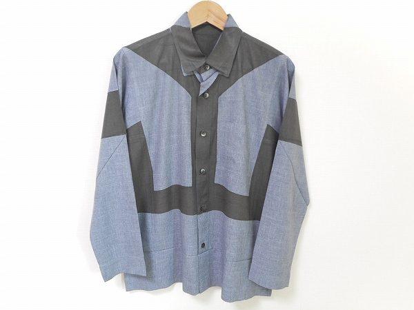 こなれたデザインが楽しいイッセイミヤケのシャツを買い取りました