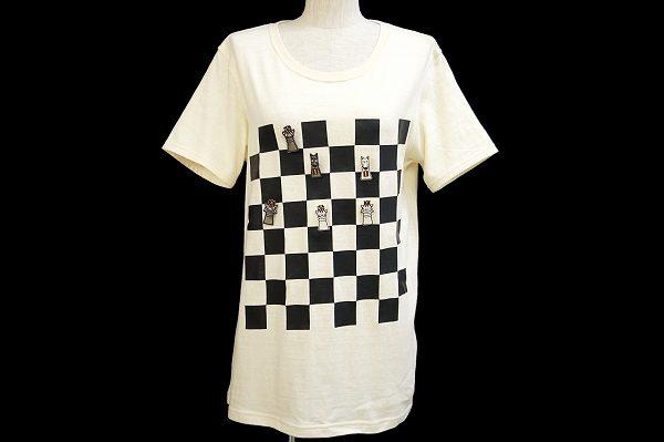 チェスのようなデザインが可愛いアルベロベロのTシャツを買い取りました