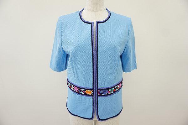 カントリー調のデザインが素敵なレオナールのジャケットを買い取りました