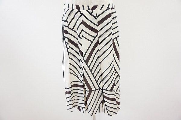 巧みなブラックライン切り替えがアートのよう。マダムジョコンダのスカートを買取いたしました