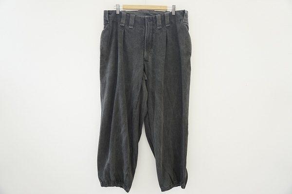大人の余裕を感じさせるようなシルエットが魅力のヨウジヤマモトプールオムのパンツを出張買取いたしました