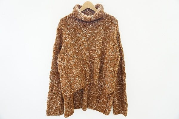 立体感のある編みが印象的なヨウジヤマモトプールオムのセーターを宅配買取いたしました