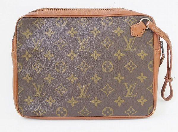 機能性が高くてもコンパクト、ルイ・ヴィトンのクラッチバッグを店頭預かり買取いたしました