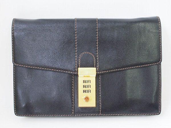 高品質で伝統を感じる風格が漂う、ゴールドファイルのクラッチバッグを出張買取いたしました