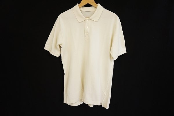 ベーシックアイテムだからこそ着たくなるデザインのものを。パパスの半袖ポロシャツを宅配買取いたしました