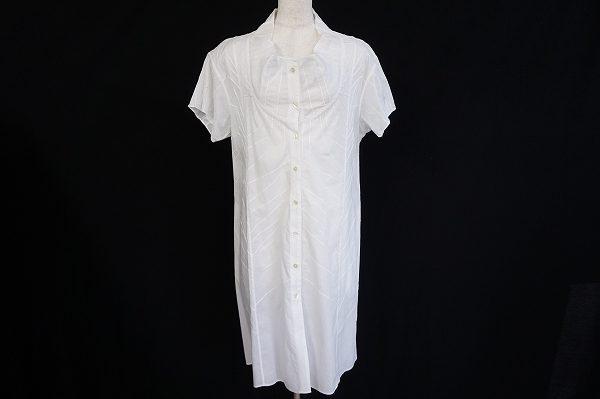 ディテールに拘りコーディネートが広がる、イッセイミヤケハートのシャツワンピースを出張買取いたしました