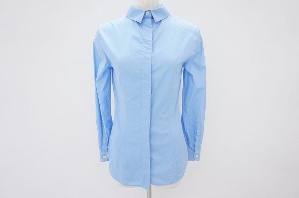 爽やかなブルーで好印象!プラダのシャツを宅配買取いたしました